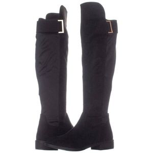NWT Rebel by Zigi Knee High Boots in Black